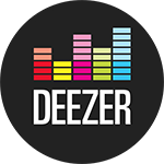 Deezer logo circle copie